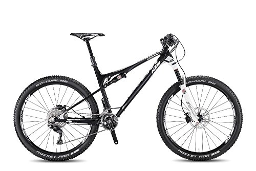 KTM Lycan 27 Elite Mountainbike, 2017, carbon weiss, 22 Gang, RH 43, 12,20 kg