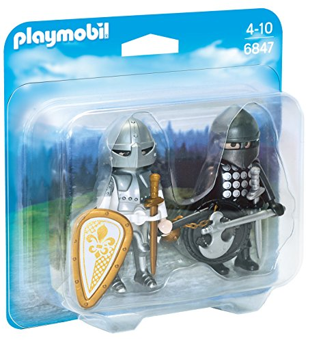 PLAYMOBIL Duo Pack- Knights\' Rivalry Duo Pack Figura con Accesorios, Multicolor (6847)