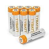 Wiederaufladbare Akku Batterien Mignon AA 1,2V - 2000 mAh NiMH Akkubatterie mit geringer Selbstentladung - Aufladbare Batterie 8 Stück