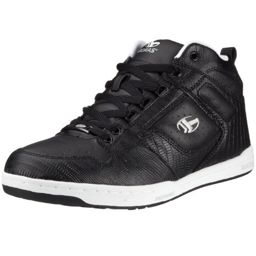 Boras JACKSON 3425, Unisex - Erwachsene Sportschuhe - Skateboarding Schwarz (Black/White/Silver585)