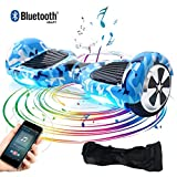 BEBK&Windgoo Two Wheel Self Balancing Scooter 6.5' Hover Board with Bluetooth and LED