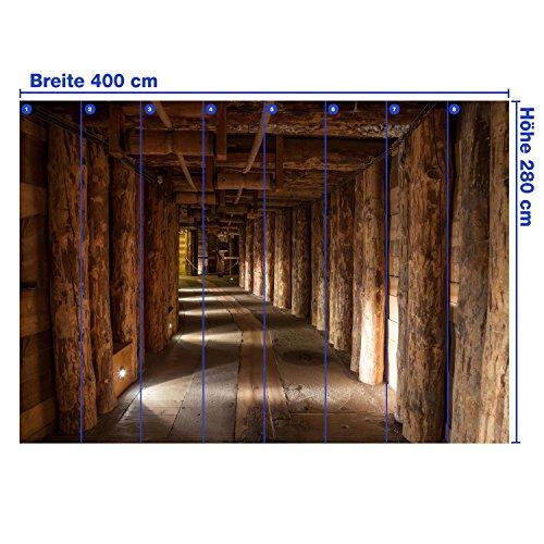 Fototapete Salzbergwerk Polen KT289 Größe: 400x280cm Tapete Salz Bergwerk Untertage - 4