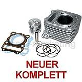125 ccm ZYLINDER KOLBEN KIT SET KOMPLETT für SUZUKI GN125 GN 1993-2002 4TAKT