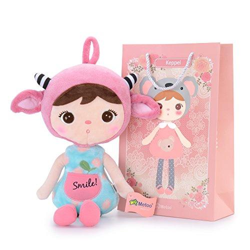 Metoo Muñeca Keppel niñas la muñeca del bebé regalos de cumpleanos 16\'\' (chica oveja rosa)