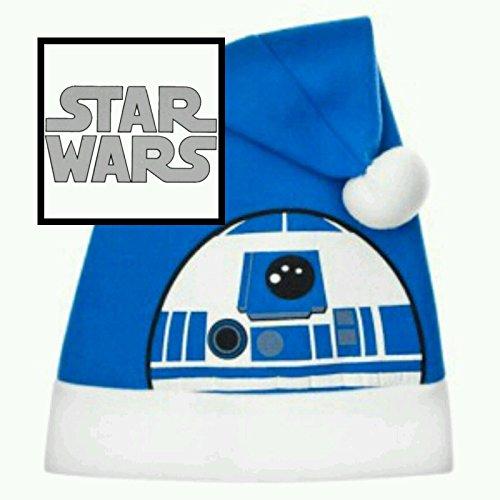Disney Star wars~R2 D2~festive~christmas~santa hat by (Hat R2d2)