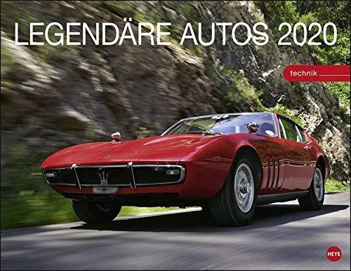 Legendäre Autos 2020 44x34cm