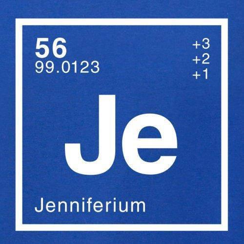 Jennifer Periodensystem - Herren T-Shirt - 13 Farben Royalblau