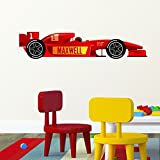 Personalised Formula 1 Racing Car Wall Sticker Decal - Best Reviews Guide