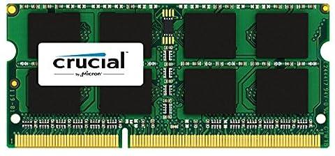 Crucial 4GB Single DDR3L 1866 MT/s (PC3-14900) SODIMM 204-Pin Memory