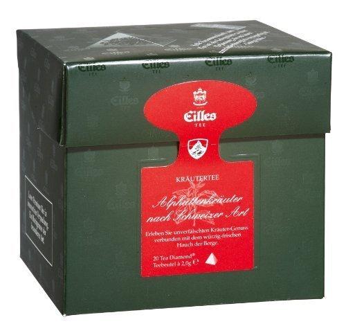 Eilles Tee - Alphüttenkräuter nach Schweizer Art - 20 Beutel
