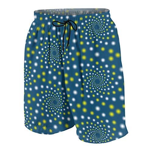 Shorts 01979852 Mandala 12 ~ Tanz der Glühwürmchen_2531 Badehose Surf Beach Holiday Party Badeshorts Strandhose M ()