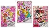 Disney 3X Malblock & Sticker Set Din A 5