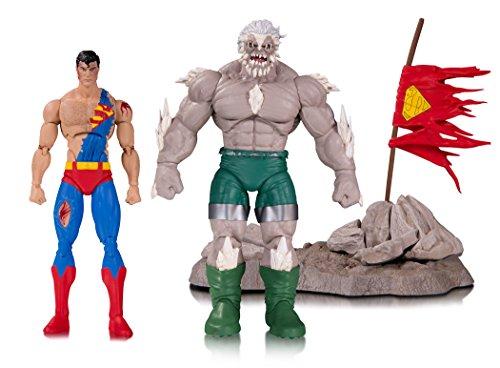 DC Comics MAY170374 Icons Doomsday Death Superman Deluxe Figura de acción