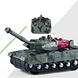 heDIANz Mini Electric Wireless ferngesteuerter Panzer Toy Military Modell
