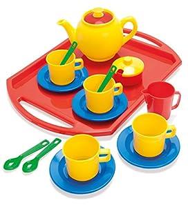 Dantoy 4335 - Servicio de té de 18 piezas importado de Alemania