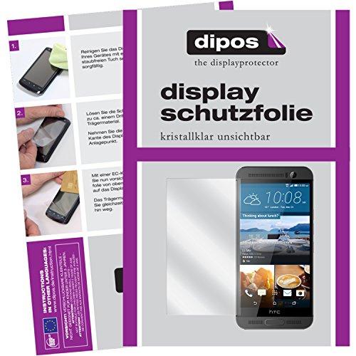 dipos I 2X Schutzfolie klar passend für HTC One M9 Plus Folie Bildschirmschutzfolie