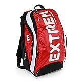 Sport- und Freizeitrucksack Bag Street rot/weiß