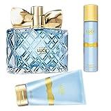 Avon Luck Limitless Set 3 Teile 1x Eau de Parfum 50ml 1x Bodylotion 150ml 1x Körperspray 75ml Duft für Damen