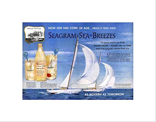 advert-drink-alcohol-gin-seagram-yacht-ocean-sail-framed-art-print-b12x3038