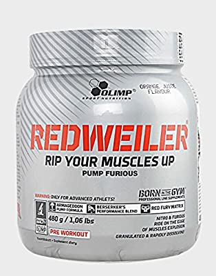RedWeiler, Lime Crime Mint - 480 grams booster nitric oxide power energy strength performance stimulation focus by Olimp Nutrition M from Olimp Nutrition