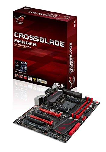 Asus Crossblade Ranger Gaming Scheda Madre, Socket FM2+, Nero/Rosso