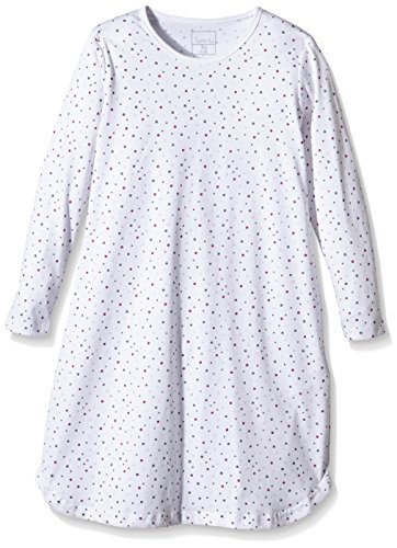 NAME IT NITNIGHTGOWN K G NOOS, Camicia da notte Bimbo 0-24, Multicolore (Bright White), 110