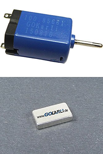 GOKarli Tuningmotor für Carrera GO / Carrera Digital 143 Plus 2,00 mm Tuningmagnet