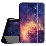 Fintie Samsung Galaxy Tab 3 7.0 Lite T110 T111 T113 T116 Hülle Etui Case - ultradünn Schutzhülle Tasche SlimShell Cover mit Ständer für Galaxy Tab 3 7.0 Lite (7 Zoll) Tablet, Die Galaxie
