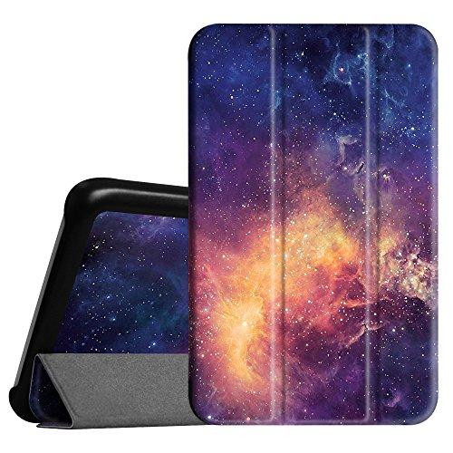 Fintie Hülle für Samsung Galaxy Tab 3 7.0 Lite T110 T111 T113 T116 - ultradünn Schutzhülle Tasche SlimShell Cover mit Ständer für Galaxy Tab 3 7.0 Lite (7 Zoll) Tablet, Die Galaxie