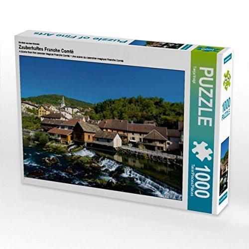 Un motif du calendrier magique Franche Comté de 1000 pièces en forme de puzzle