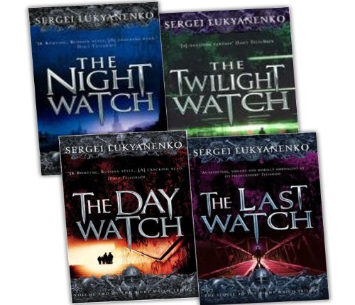 Sergei Lukyanenko Night Watch Trilogy 4 Books Collection Pack Set RRP: £34.68 (The Last Watch, The Day Watch, The Twilight Watch, The Night Watch)