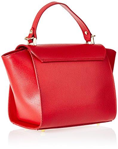 Contessa dal pozzo Natalie, Pochette da Giorno Donna, 20 x 20 x 13 cm (W x H x L) Rosso