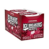 8 x Cinnamon Mints - Sugar Free Ice Breakers Candy 42g (Wholesale Box)