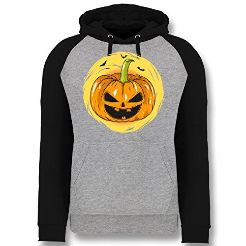 Shirtracer Halloween - Halloween Kürbis Gesicht - S -