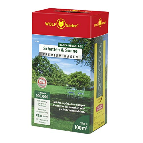 WOLF-Garten - Premium-Rasen »Schatten & Sonne« LP100 ; 3820040 -