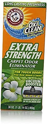 Arm & Hammer Extra Strength Odor Eliminator for Carpet and Room, 30 Ounce by Church & Dwight