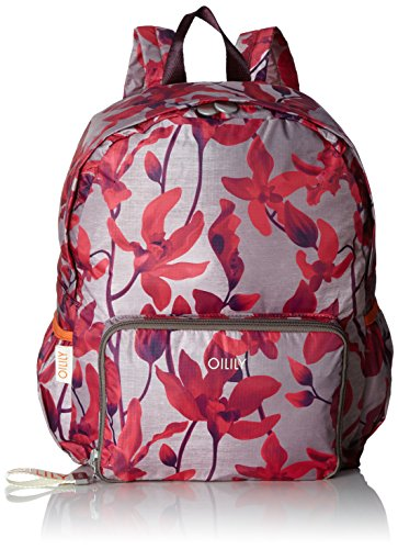 731698ef70 Oilily Enjoy Backpack Lvz, Women's Backpack, Rot (Dark Red), 13x40x30 cm