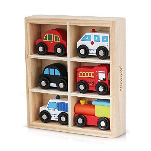 Autos Bus Motor Notfall Fahrzeuge Pädagogisches Spielzeug für das frühe Lernen für 3 Jahre alt ()