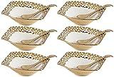 La Platina Ceramic Dessert Bowl Set, 12-...