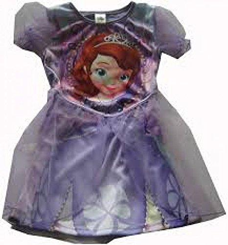 Disney Violett Sofia Die Erste Mädchen TuTu Kleid Prinzessin Kostüm Eu 98-104