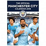 Manchester City 2018 Football Calendar