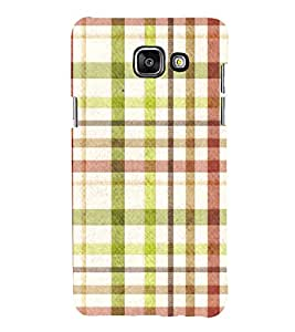 99Sublimation Checks In Multi Colour Pattern 3D Hard Polycarbonate Designer Back Case Cover for Samsung Phones