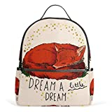 Best Books For 6th Grades - COOSUN Red Fox Quote School Backpacks Bookbags Review