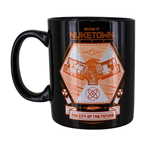 Call of Duty Nuke Town Heat Change Mug, Ceramica, Multi-Colour, 8 x 12 x 9 cm