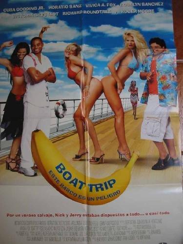 POSTER Cine - Poster Film : BOAT TRIP, ESTE BARCO ES UN PELIGRO