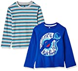 Cloth Theory Boys' Regular Fit T-Shirt (Pack of 2)(CTBLCNPK005_Multicolor_9 - 10 years)