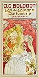 Posterlounge Forex-Platte 90 x 180 cm: J. C. Boldoot, EAU de Cologne Parfumerie von Henri Privat-Livemont