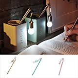 Bodhi2000® Gelschreiber mit Glühbirne, 0,38 mm, Schwarz, 3 Stück
