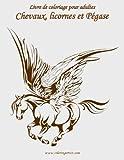 livre de coloriage pour adultes chevaux licornes et p?gase 1