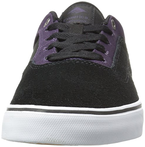 Emerica Herman G6 Vulc, Chaussures de Skateboard homme BLACK/PURPLE